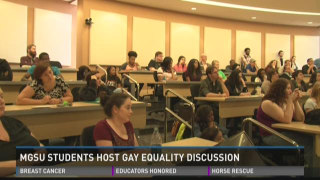 MGSU students host gay equality discussion